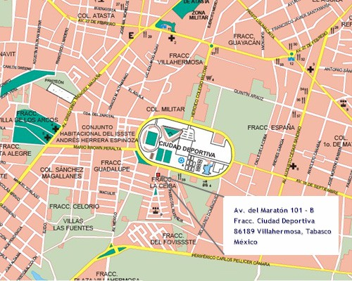 Rocha monasterio oficinas en villahermosa tabasco mexico for Casa de los azulejos villahermosa